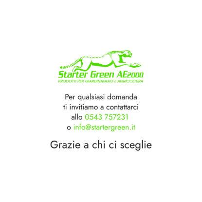 Starter Green - Terreni Ombreggiati 10kg